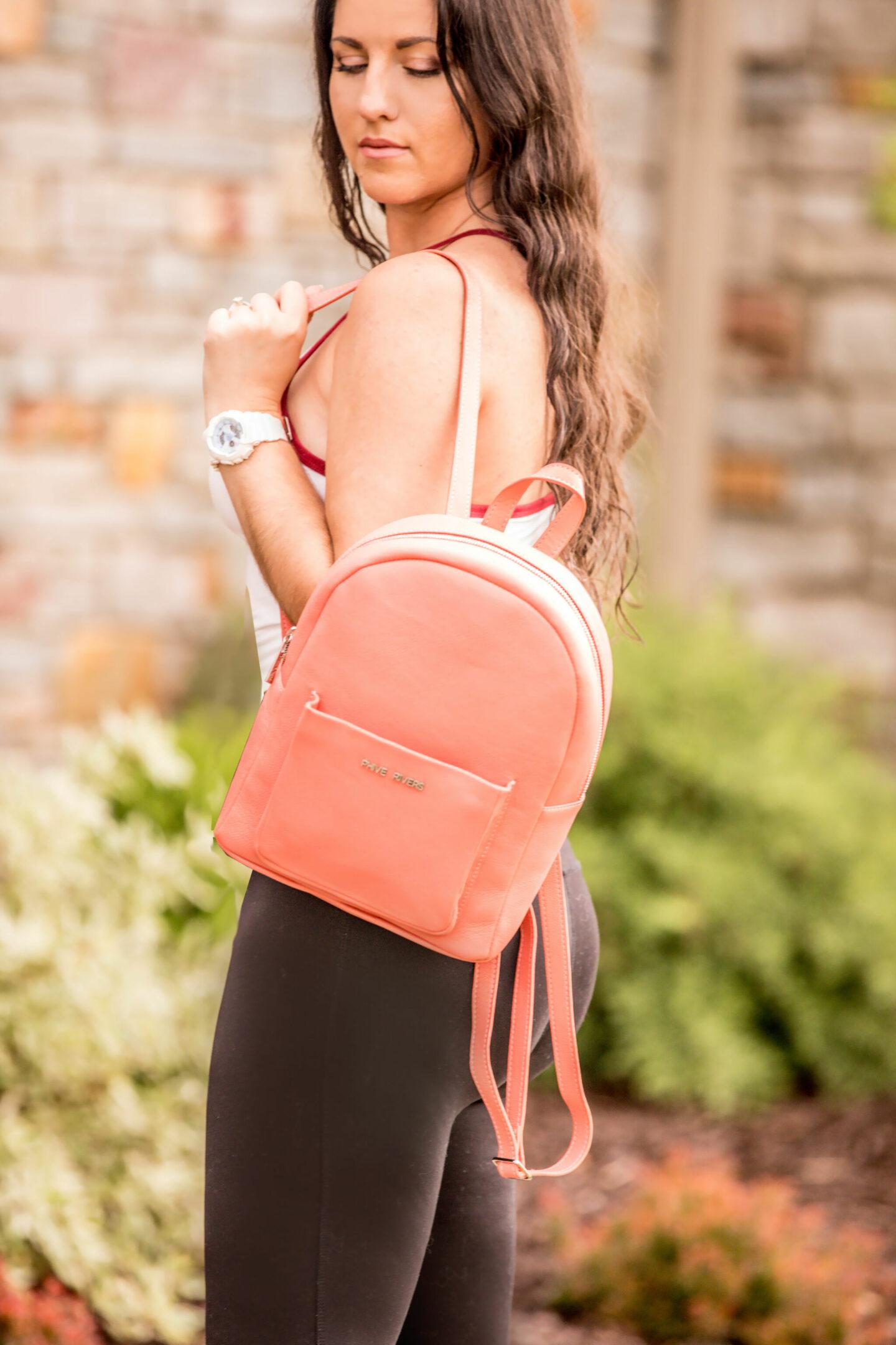 stylish backpack for women, baily lamb, chicago fashion blogger