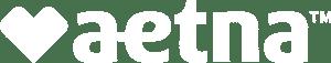 Aetna Insurance Reversed logo