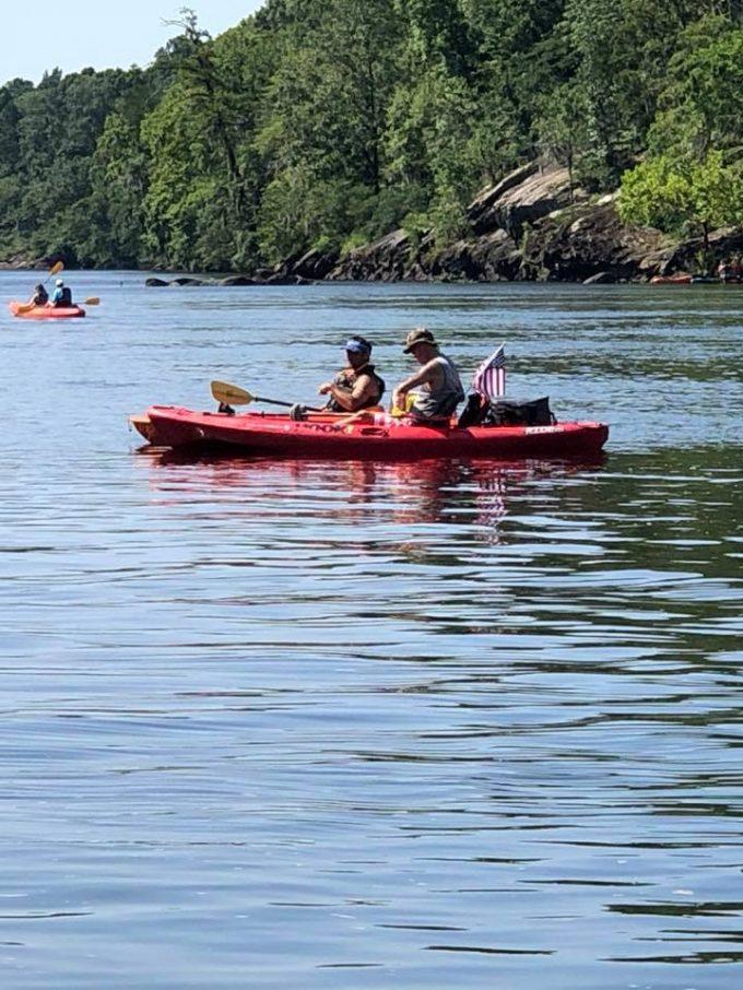 Kayaking the Coosa River