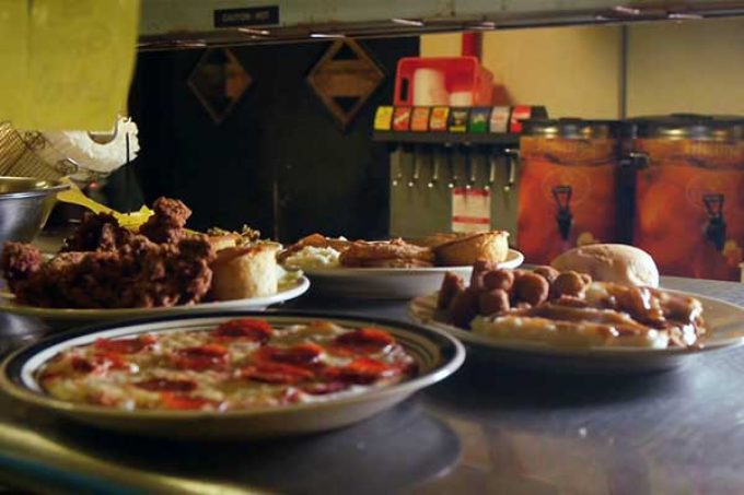 Wide variety of menu items at Pasta Pizzeria