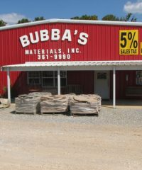 Bubba's Materials – Sand & Gravel