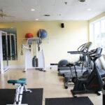 Image of the elliptical cardio machine, treadmill, and bike