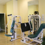 Image of the chest press and leg press machines
