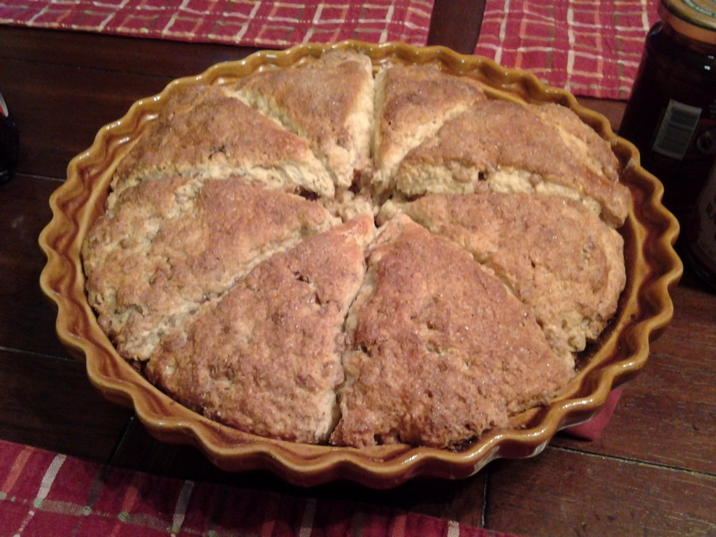 Scones - out of the oven
