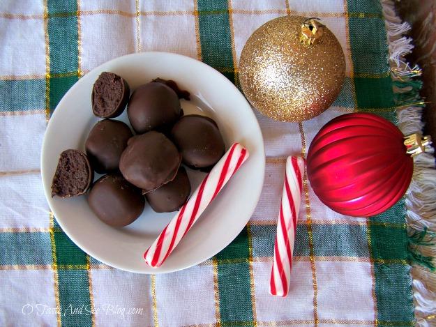 chocolate mint cake balls 105
