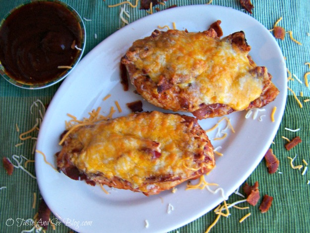 bbq chicken with bacon and cheese 050