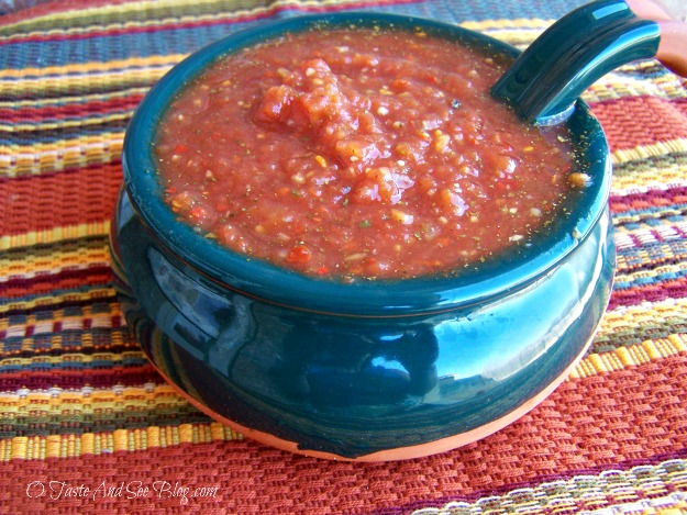 salsa in a snap
