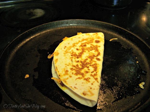 Chorizo quesadillas 078