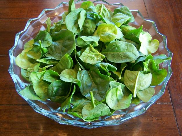 strawberry spinach salad 030