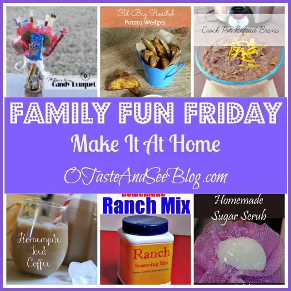 make it at home family fun friday