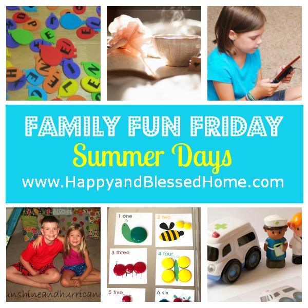 family-fun-friday-summer-days