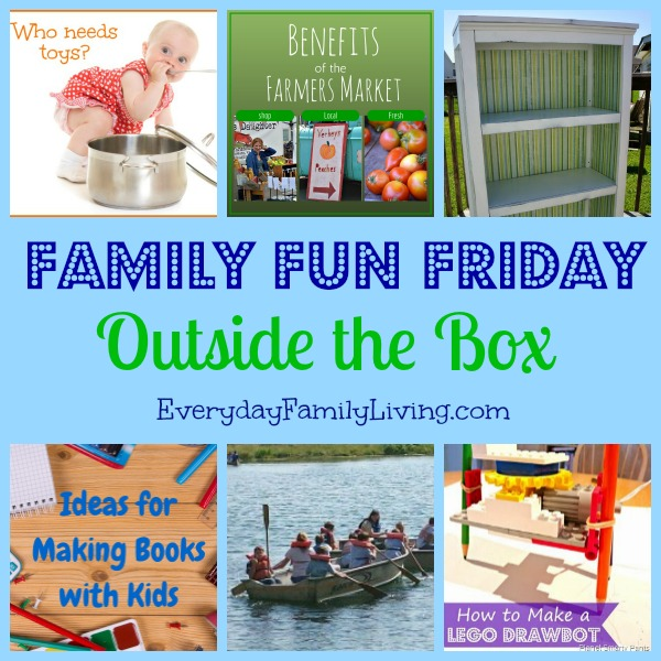 Outside the Box on Family Fun Friday