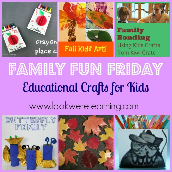 Educational Crafts for Kids Title