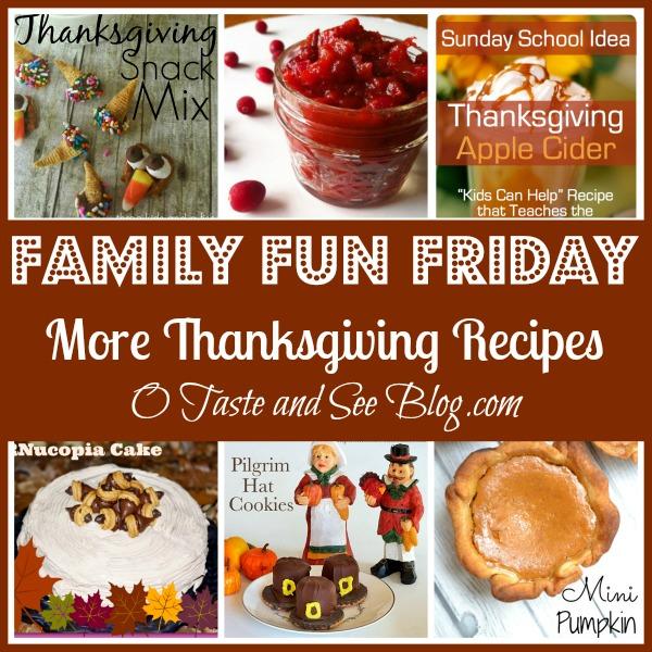 more thanksgiving recipes