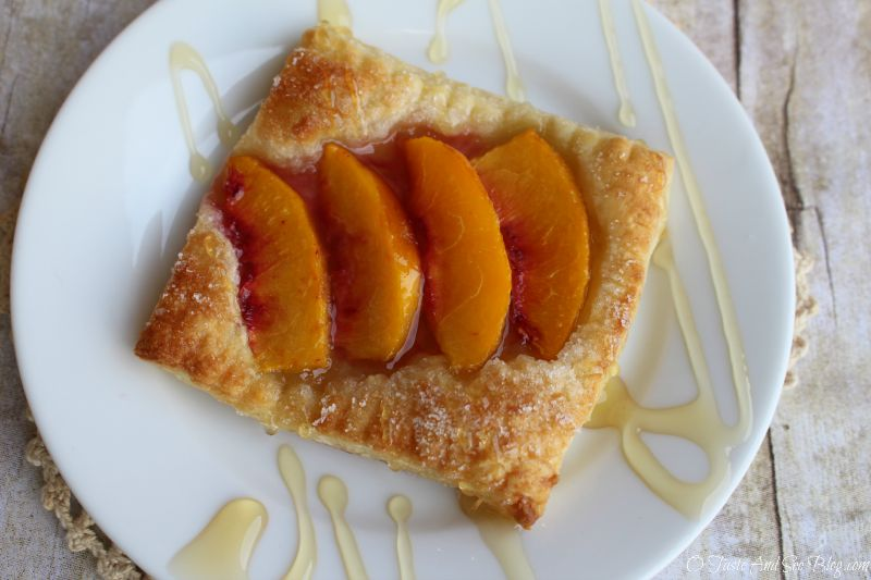 Easy Peach Tarts