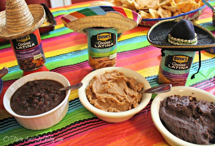 Black Bean Nachos #CocinaLatinaBeans ad