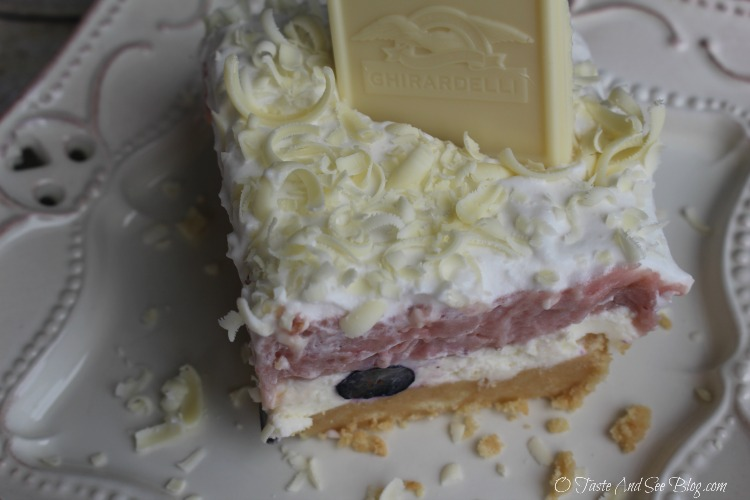 White Chocolate Very Berry Lasagna