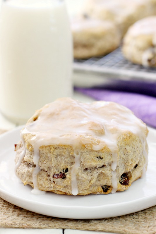 Cinnamon Raisin biscuit