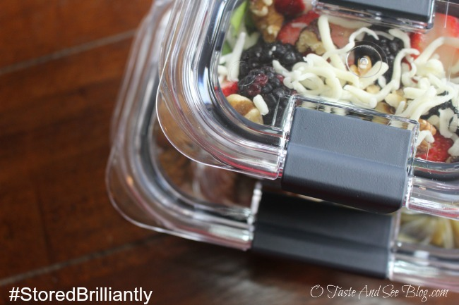 DIY Freezer Lunches #StoredBrillaintly #ad
