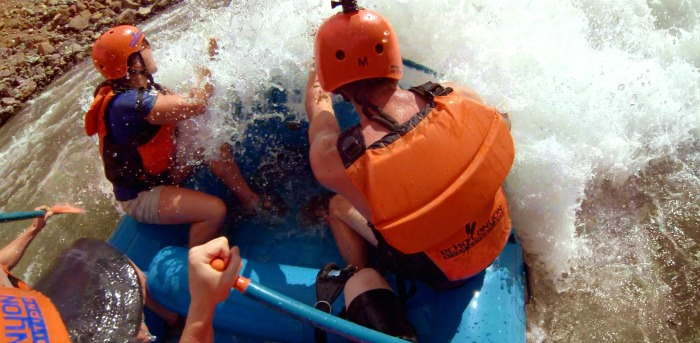 White water rafting #ad #visitcos