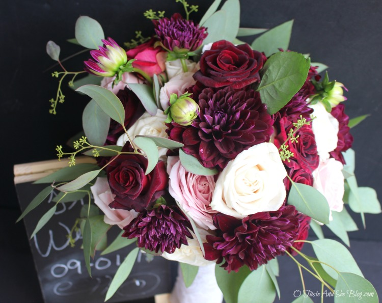 Hand Tied Bridal Bouquet #ad