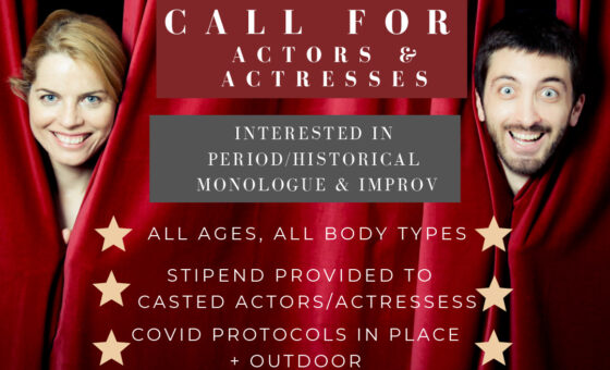 Calling For Actors & Actresses