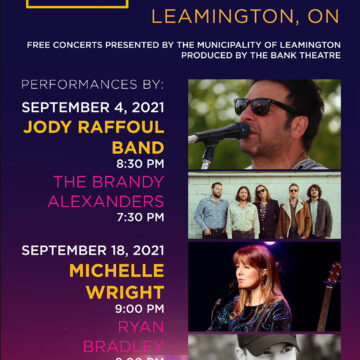 Leamington to Host Free Outdoor Summer Concert Series