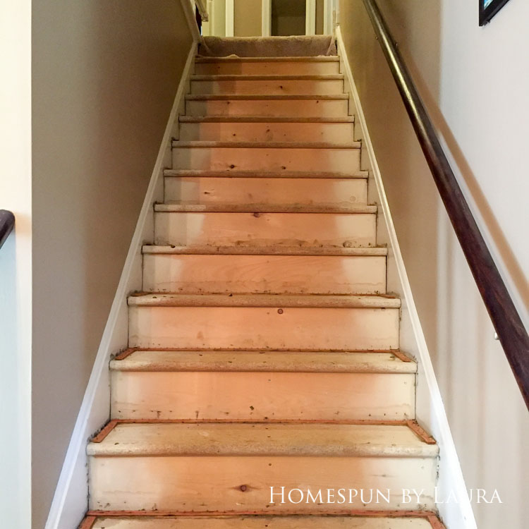 New homeowner tip: Install flooring before you move in!