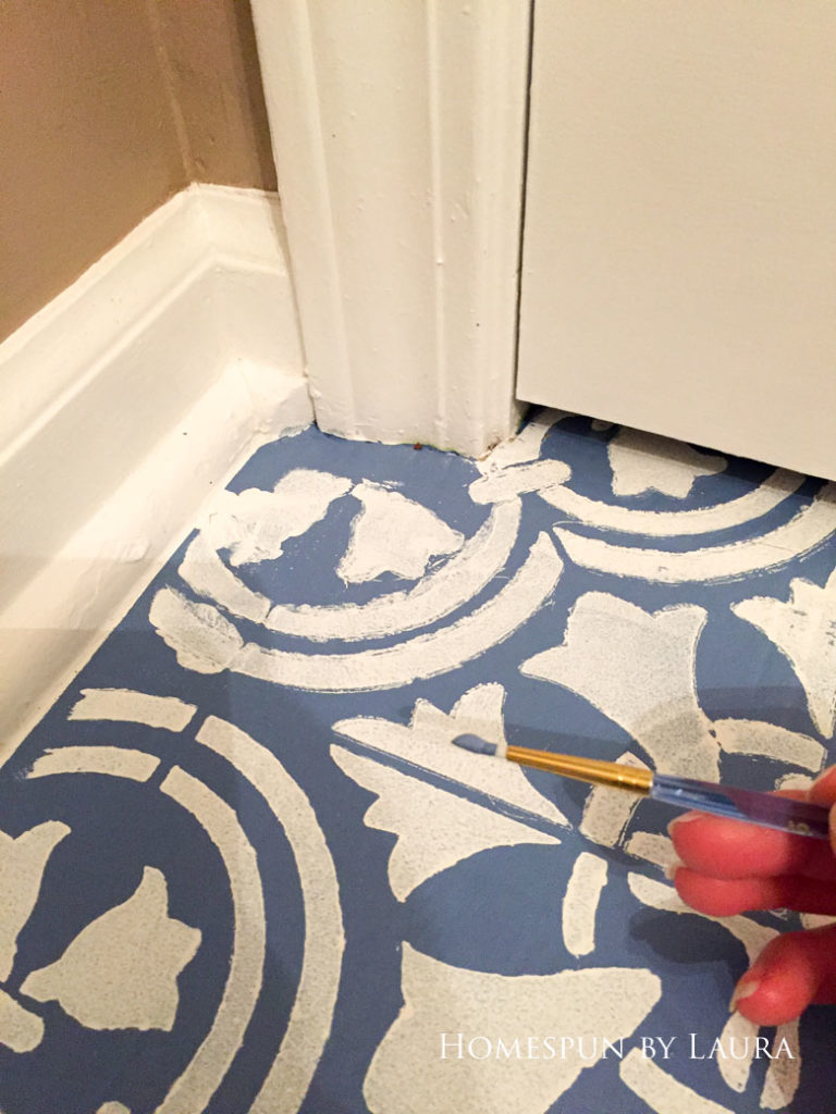 """$75 DIY Powder Room (and Pantry!) Update: One Room Challenge Week 3 