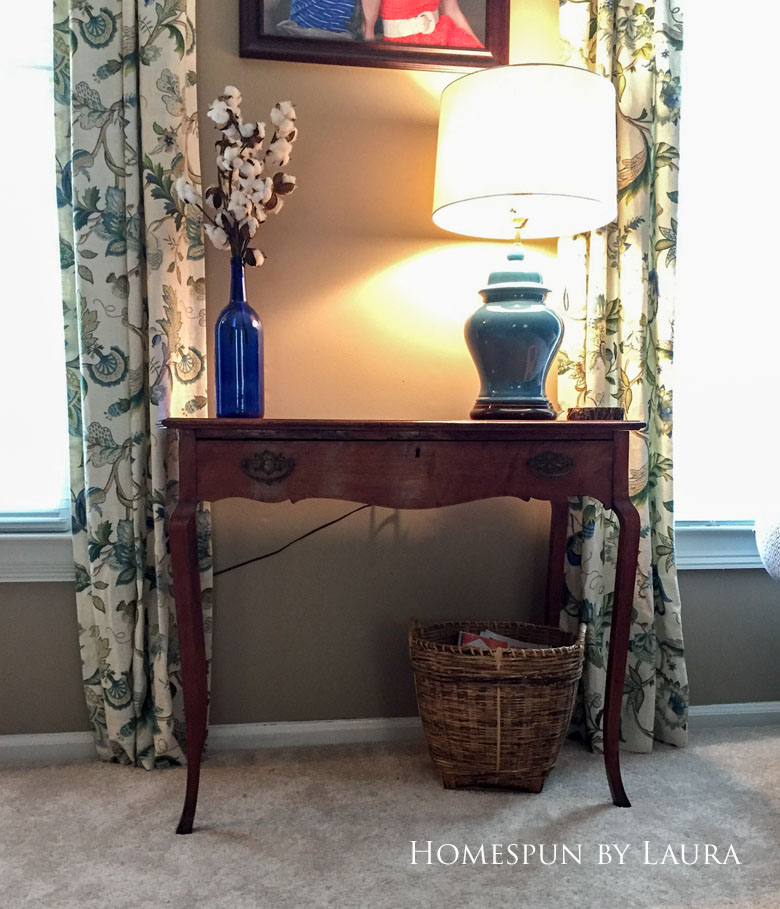 The desk before | Homespun by Laura