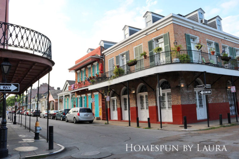 New Orleans architecture   Homespun by Laura