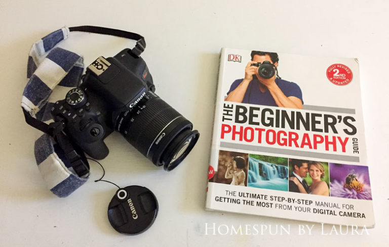 The Beginners Guide to Photography by Chris Gatcum is a great resource for first time DSLR camera owners   DIY Gift Guide for Makers and DIYers by Homespun by Laura