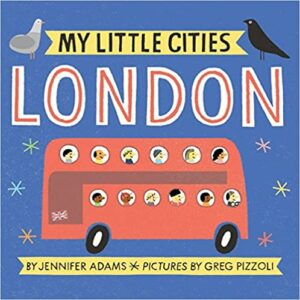 My Little Cities London Board Book