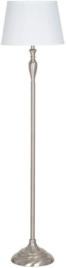 Brushed Nickel Floor Lamp (similar)