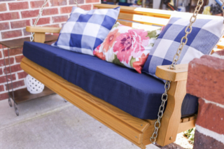 Centerville Amish Roll Back Porch Swing