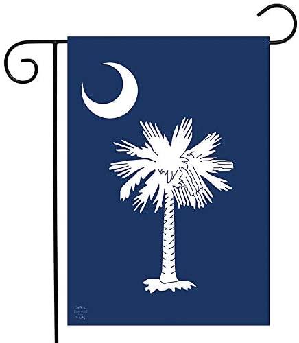 South Carolina Palmetto Tree Garden Flag
