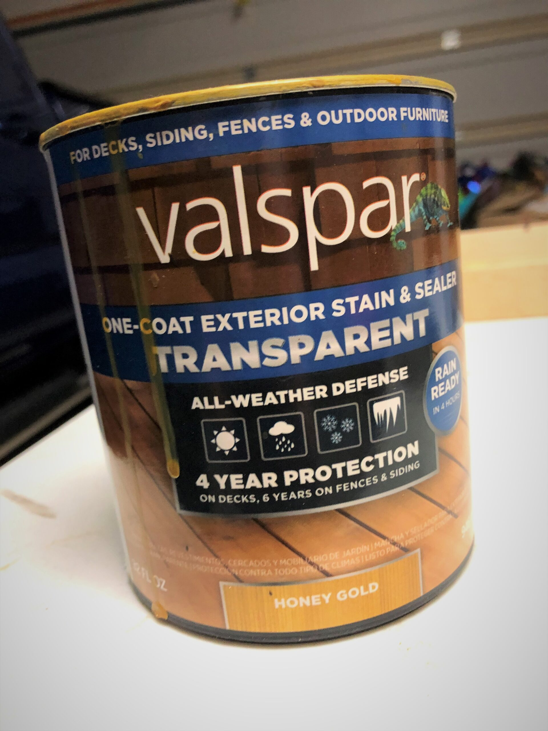 Valspar Honey Gold One-Coat Sealer