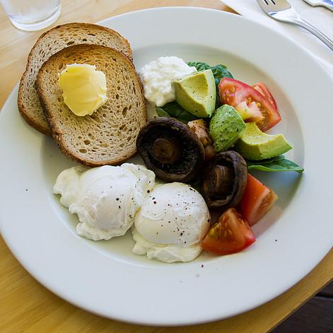 Breakfast at Valley Kitchen Cafe, Kooralbyn