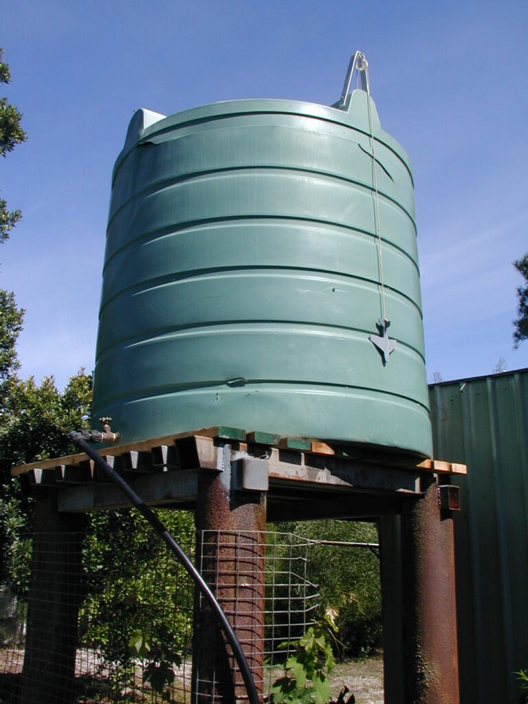 New Tank Stand, Old Water Tank!