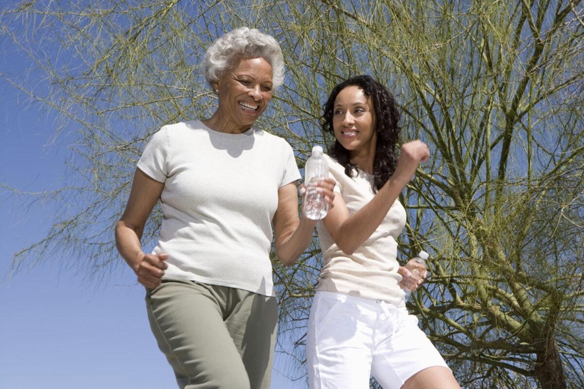 Elder Care in Los Gatos CA: Walking