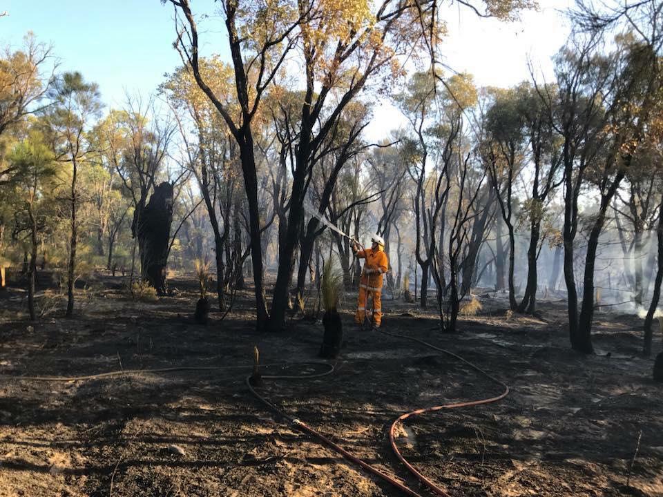 Photo: Bedfordale Volunteer Bush Fire Brigade Facebook