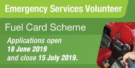ES Volunteer Fuel Card Scheme 2019 now open