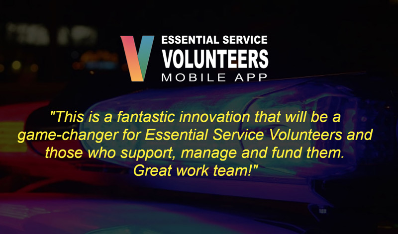 Want to show your support for volunteers? There's an app for that!