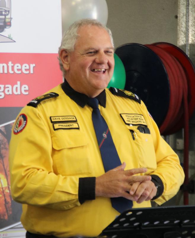 Dave Gossage at Bunbury Volunteer Bush Fire Brigade 1 #IVD2020