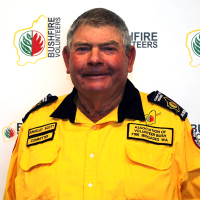 Bushfire Volunteers' Lower Great Southern Zone Representative Kingsley Scott