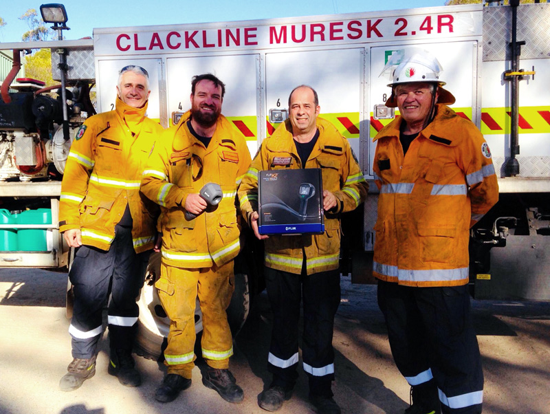 Hotspots no longer hidden from Clackline Muresk VBFB