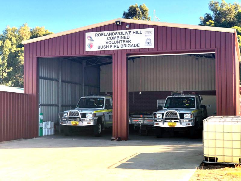 The Roelands-Olive Hill Volunteer Bush Fire Brigade 12-01-21