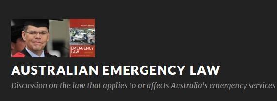 Australian Emergency Law - Michael Eburn