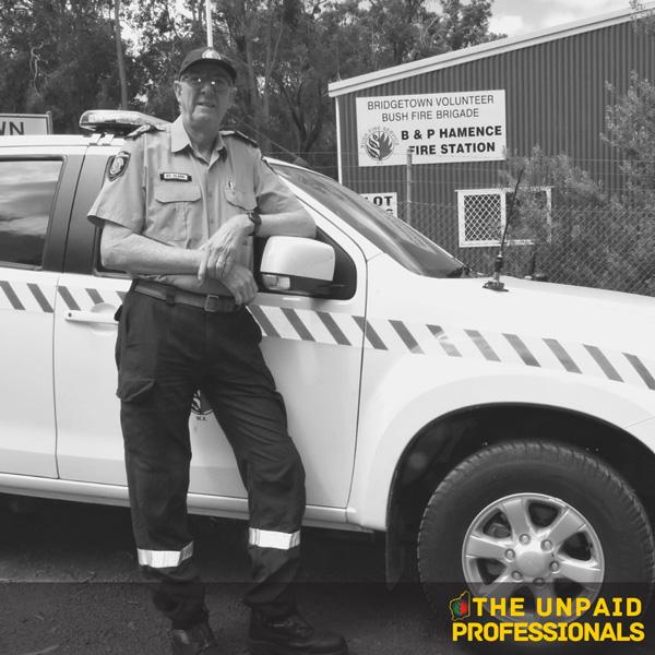 Unpaid Professionals – Ed Bland – Bridgetown Volunteer Bush Fire Brigade