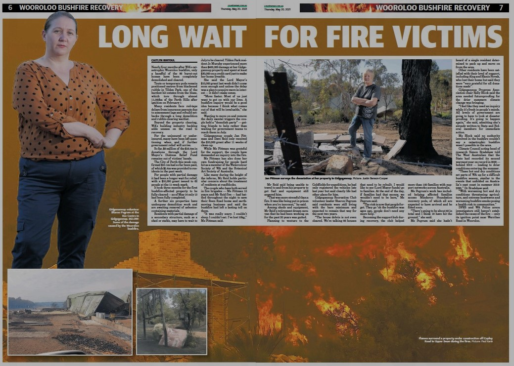 The Countryman: Long wait for fire victims